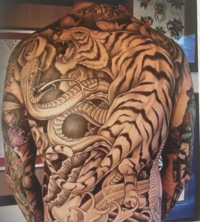 Tatuaje de Kevin Brophy Jr