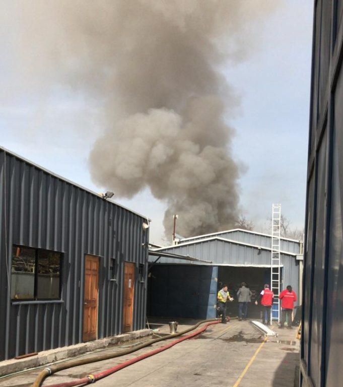 Incendio en Recoleta