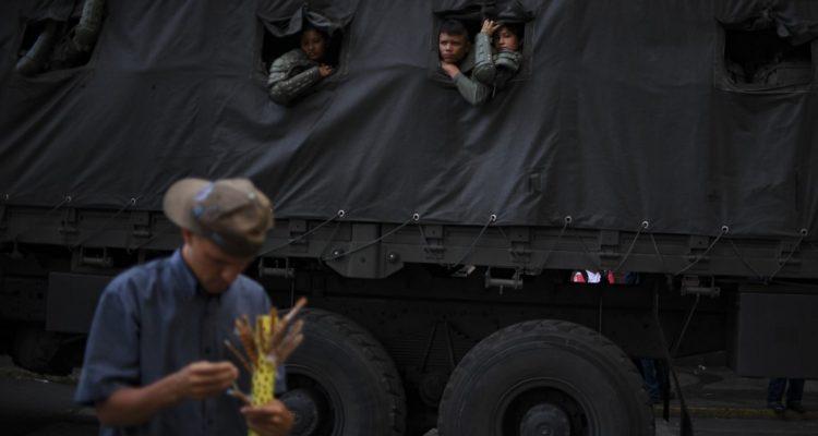 Guardia Nacional Bolivariana | Yuri Cortez | Agence France-Presse