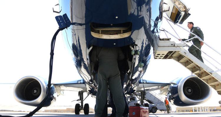 Avión Presidencial Boeing 737-500 | Sebastián Beltrán | Agencia Uno
