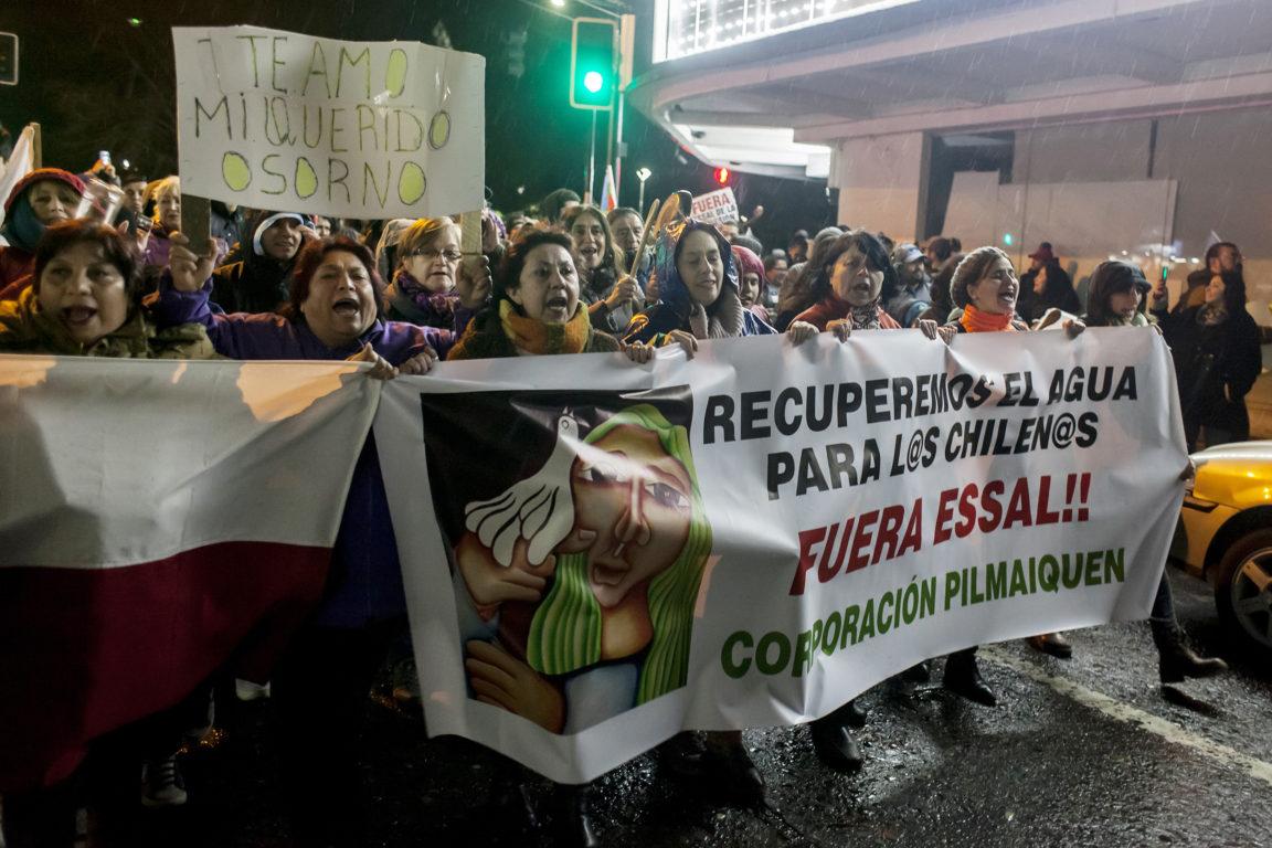 Manifestación en Osorno durante julio   Fernando Lavoz   Agencia UNO