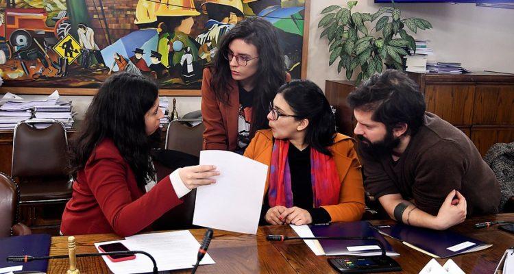 Comisión del Trabajo   Pablo Ovalle   Agencia Uno