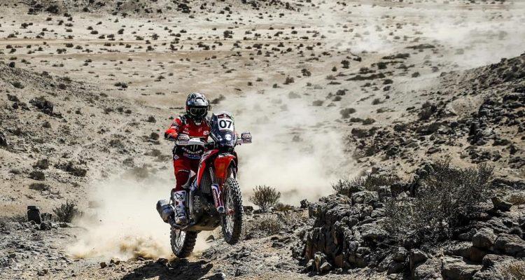 Argentino Benavides brilló en etapa 2 del Rally de Atacama y desplazó a Quintanilla del liderato