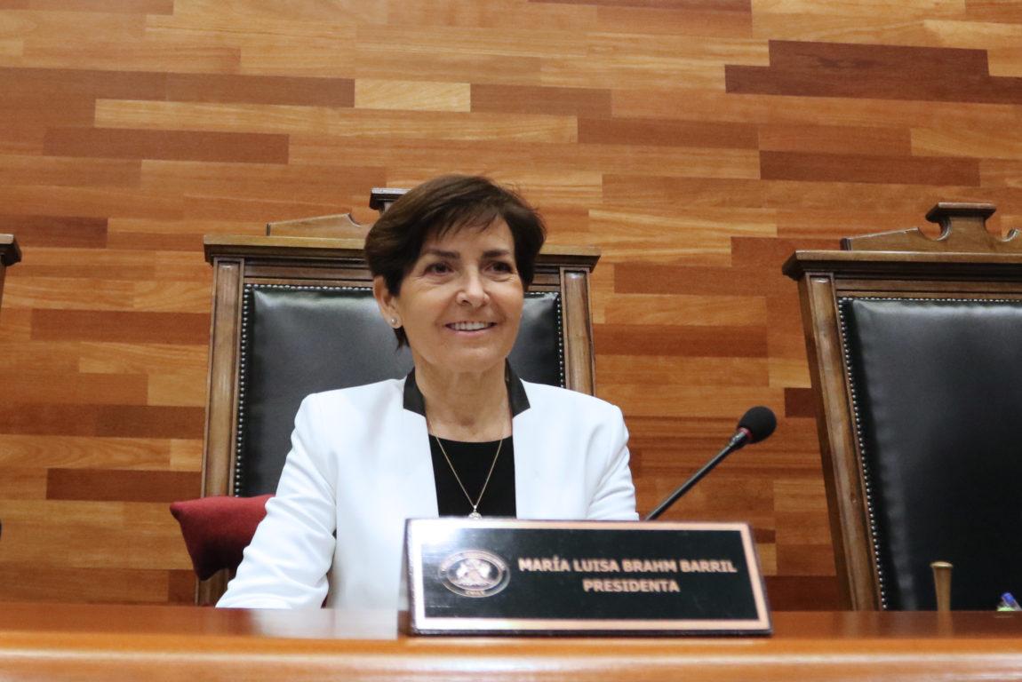 María Luisa Brahm Barril.  Rodrigo Sáenz | Agencia UNO