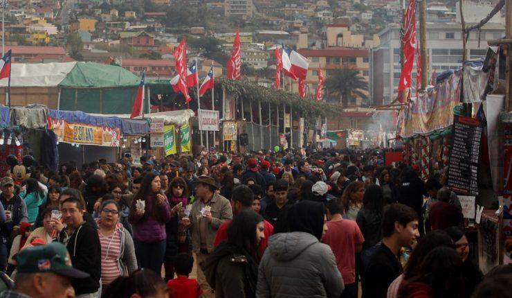 Parque Alejo Barrios en Fiestas Patrias