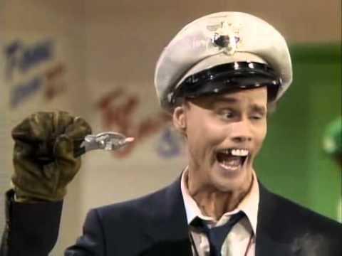 Jim Carrey como Fire Marshall Bill Burns en In Living Color