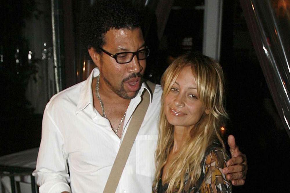 Lionel y Nicole Richie
