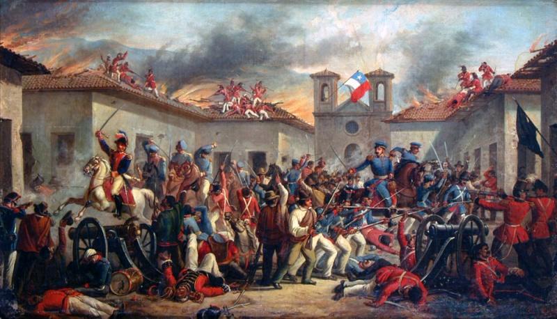 "Ã""leo del Desastre de Rancagua   Wikimedia Commons"