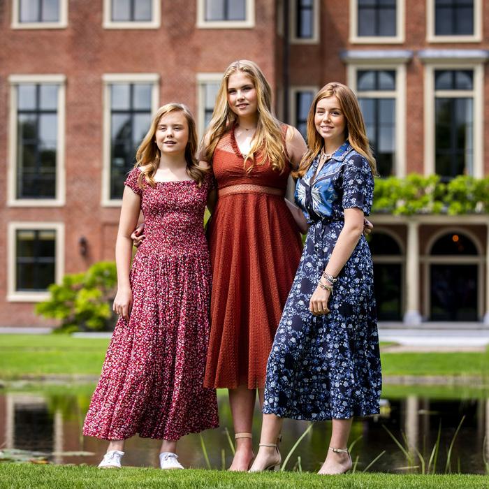 Familia real holandesa y de los países bajos