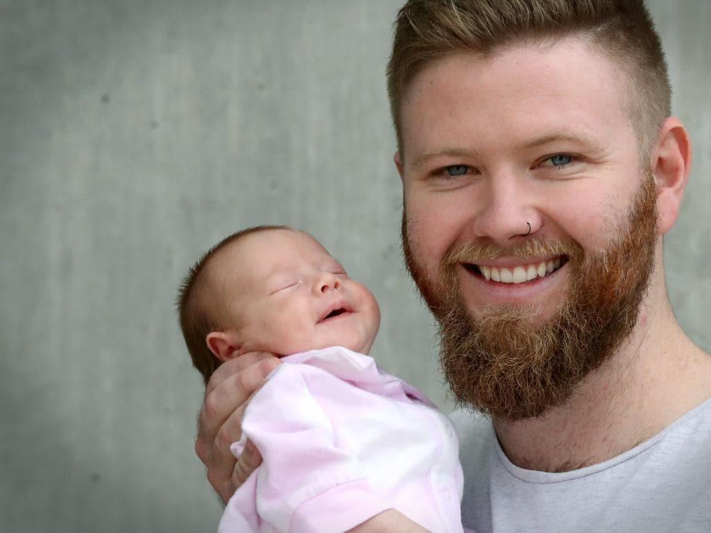 Quinn y su padre | Gofundme