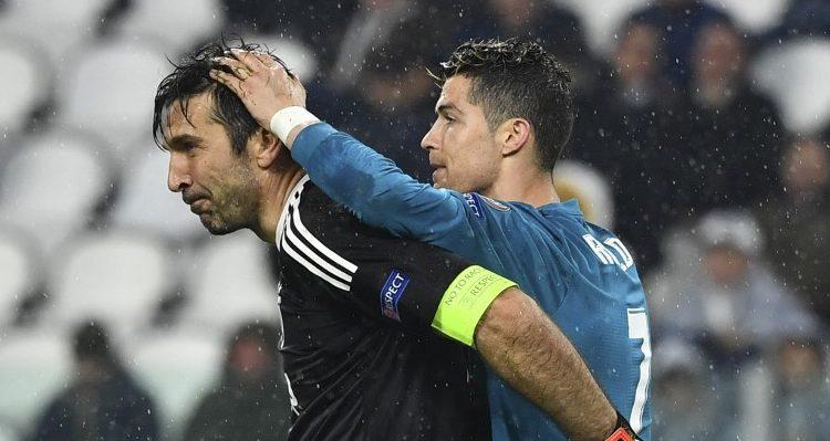 Buffon reveló divertida charla con Ronaldo tras convertirle histórico gol de chilena en Turín