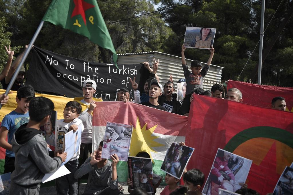 Refugiados kurdos | ARCHIVO | AFP