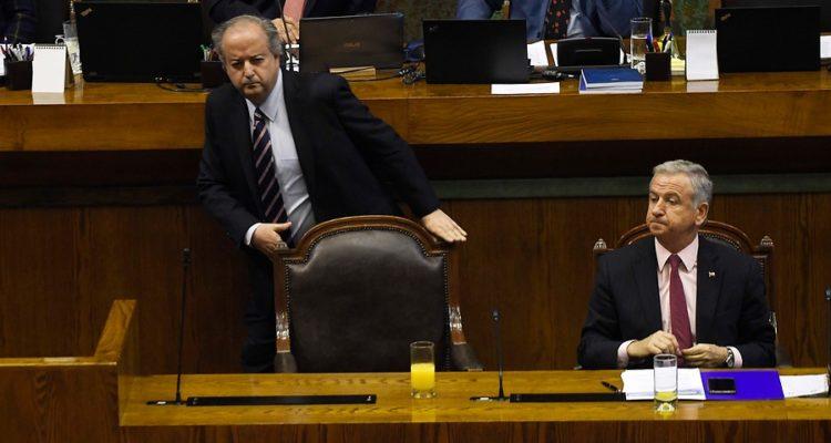 Felipe Larrain y  Nicolas Monckeberg  | Pablo Ovalle | Agencia Uno