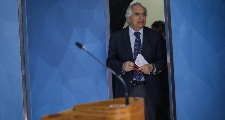El ministro del Interior Andrés Chadwick | Sebastian Beltrán | Agencia Uno