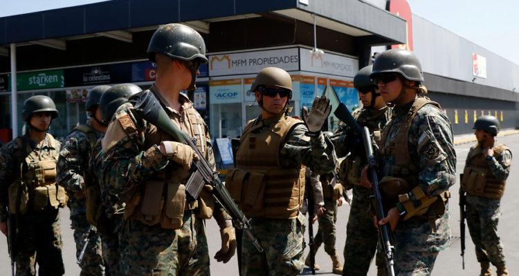 Militares en Peñalolén | Mario Dávila | Agencia Uno