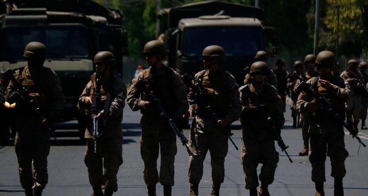 Militares en Valparaíso | Leonardo Rubilar | Agencia Uno