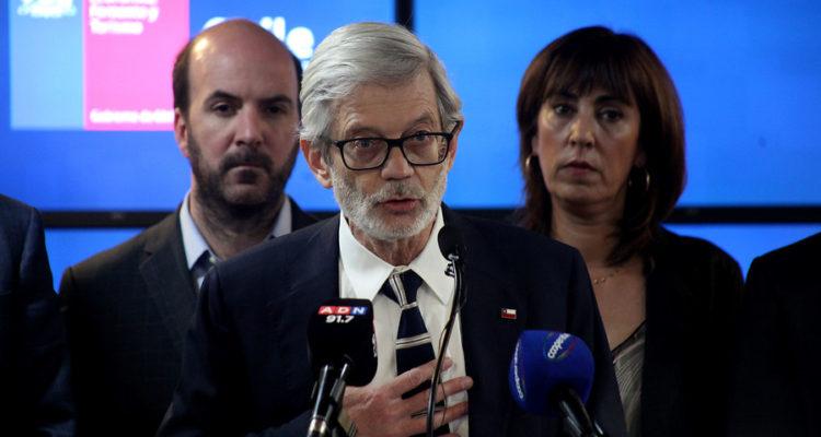 Ministro de Economía, Fomento y Turismo, Juan Andrés Fontaine | Agencia Uno