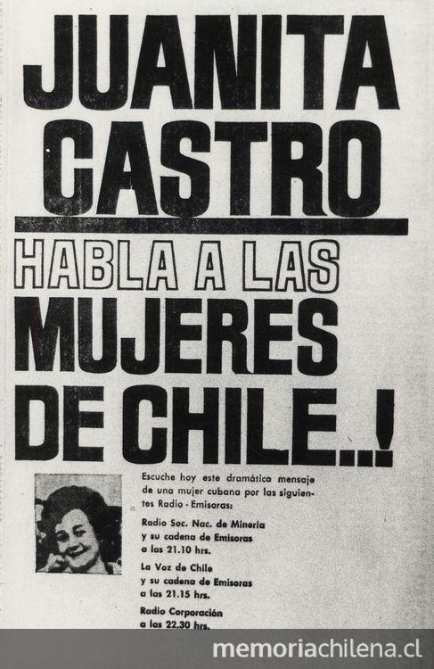 Propaganda anti allendista dirigida a las mujeres, campaña presidencial de 1964 | Archivo Memoria Chilena