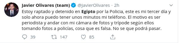 Javier Olivares | Twitter