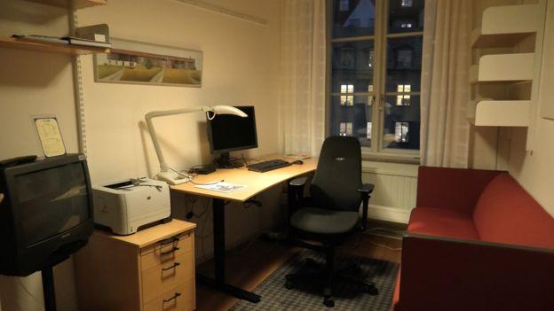 Oficina de un diputado sueco | AFP