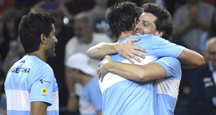 Gaudio elogia a Chile y 'calienta' duelo de Davis: