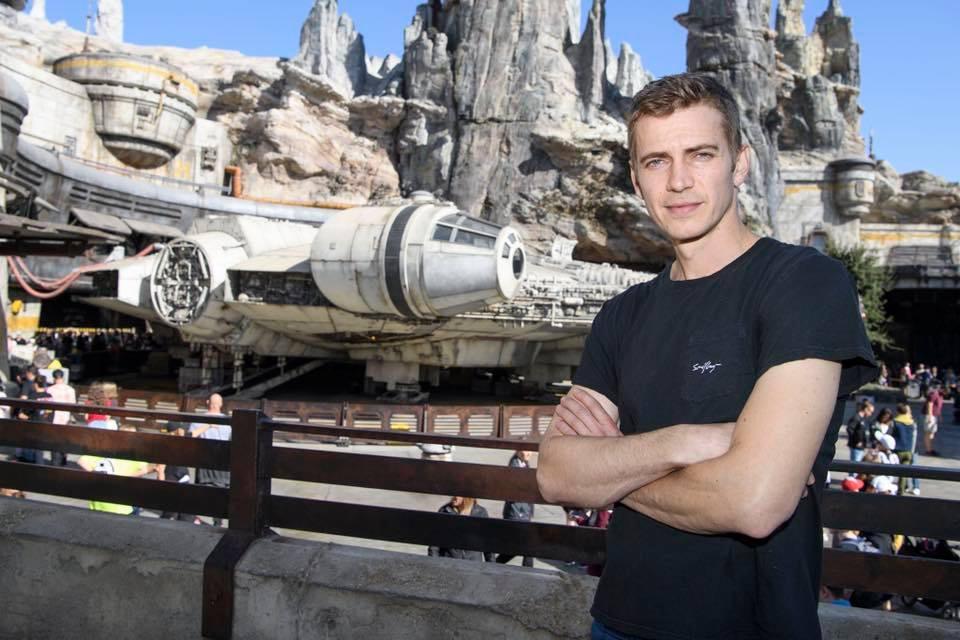 Hayden Christensen en  Star Wars: Galaxy's Edge