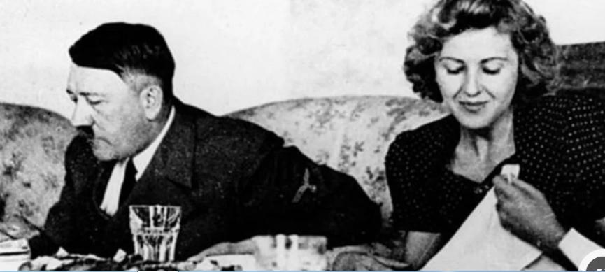 Hitler cenando con Eva Braun   Wikimedia Commons