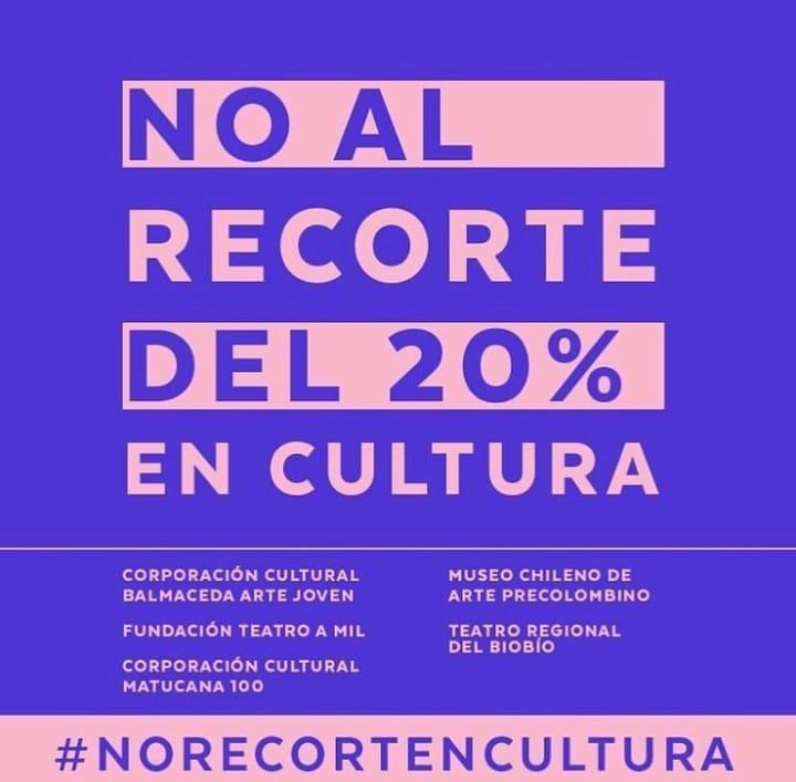 Campaña impulsada por agrupaciones culturales