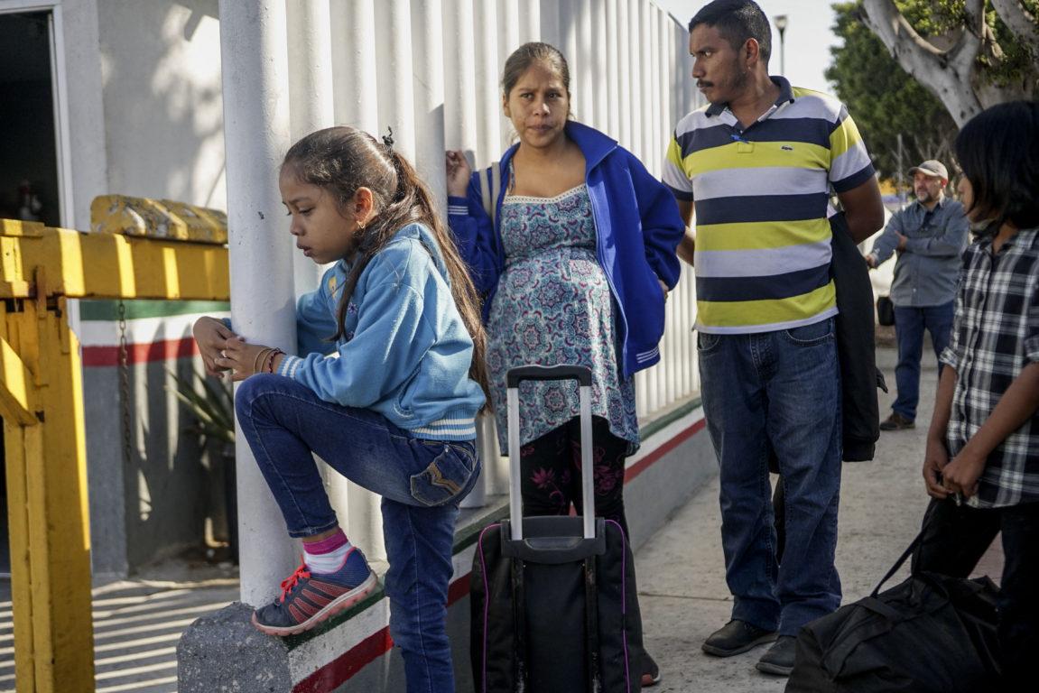 Inmigrantes hondureños / SANDY HUFFAKER / AFP