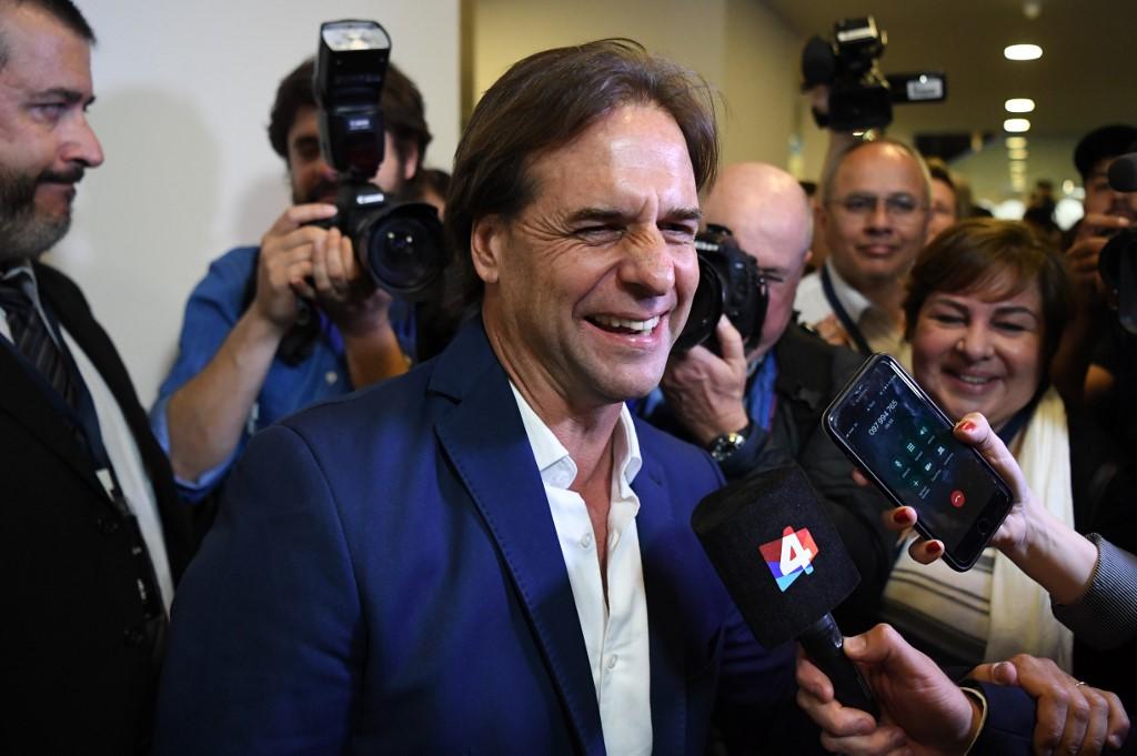 Luis Lacalle Pou   ARCHIVO    AFP