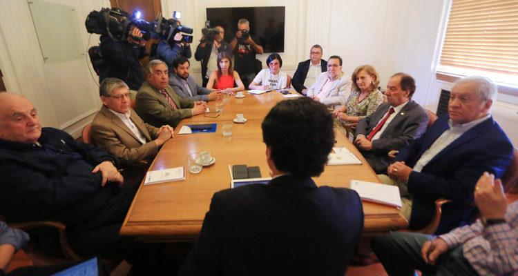Ministro de Hacienda Junto a la Conapyme, la Asech y la Multigremial | José Francisco Zúñiga | Agencia Uno