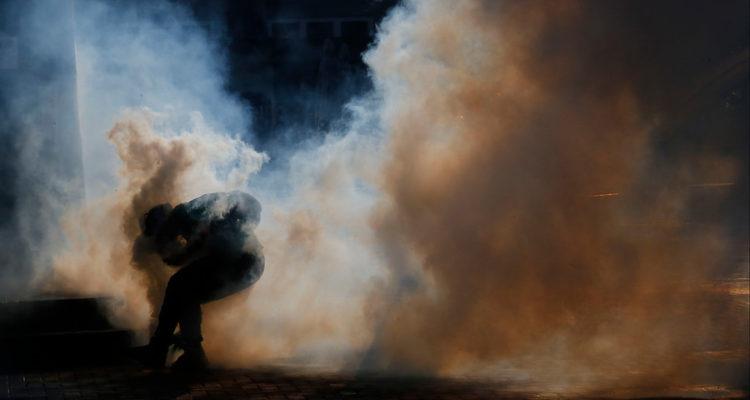 Incidentes en la Marcha en el Centro de Concepcion | Agencia Uno