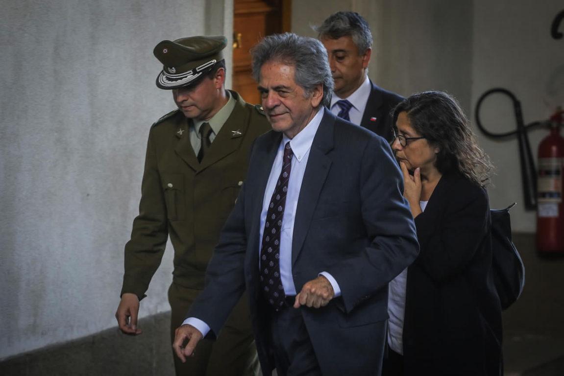 Llegada del presidente de la Corte Suprema | AgenciaUNO