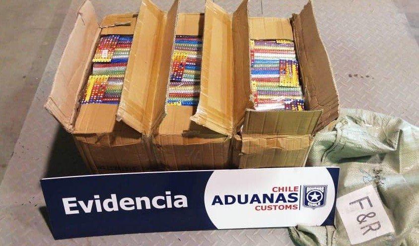 Twitter @AduanaCL