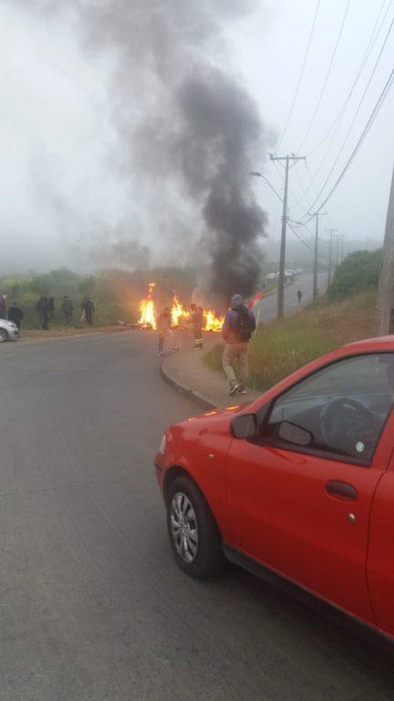 Barricadas en Talcahuano