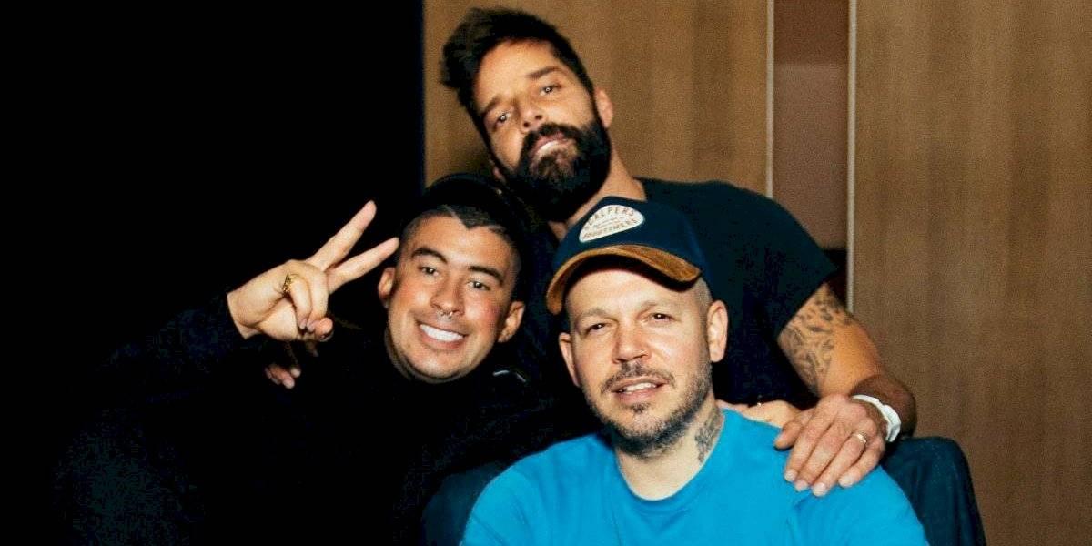 Bad Bunny, Ricky Martin y Residente