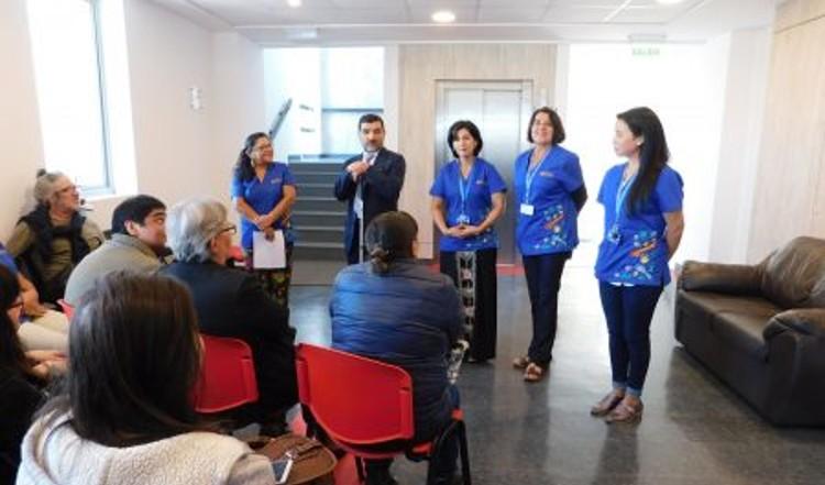 Patricio Parada recibe a sus alumnos en el centro Coalivi (Marzo, 2019).