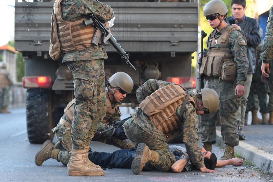 Víctima es atendida en el piso | Agencia UNO