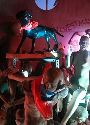 """Jaurías"", Centro Experimental Perrera Arte (c)"