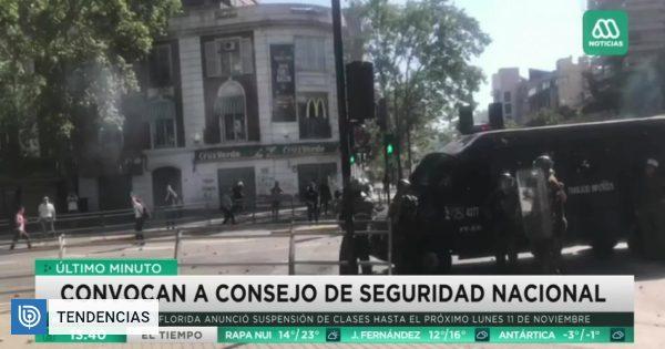 Meganoticias desmiente denuncia viralizada en redes por cobertura de manifestaciones en Providencia - BioBioChile