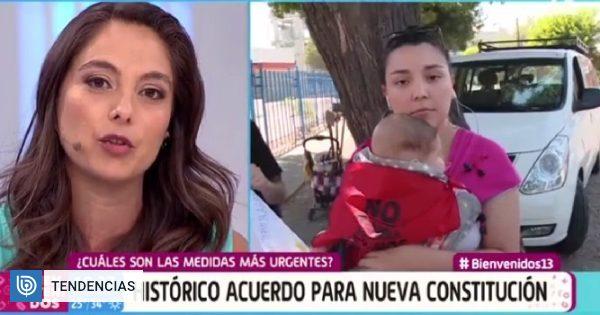 Ángeles Araya se quebró en 'Bienvenidos' con historia de joven madre: vivió su misma experiencia - BioBioChile
