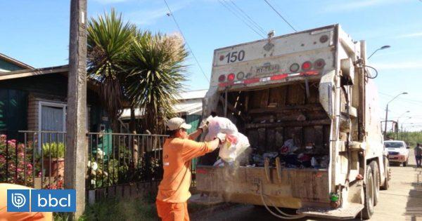 Reanudan servicio de retiro de basura domiciliaria en Valdivia - BioBioChile