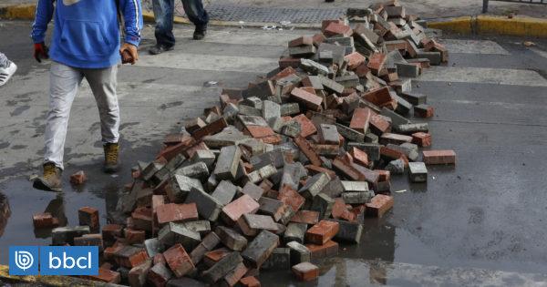 Concepción podría recibir recursos a fines de noviembre para reponer veredas y semáforos destrozados - BioBioChile