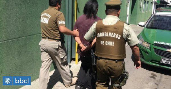 Dictan prisión preventiva contra acusado de apedrear e incendiar bus en Melipilla - BioBioChile