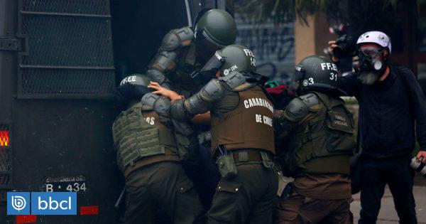 Tribunal de Osorno confirma aumento explosivo de detenciones por desorden público y saqueos - BioBioChile
