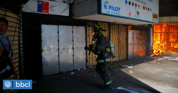 Galería Alessandri de Concepción reabrirá sus puertas tras daños por incendio - BioBioChile