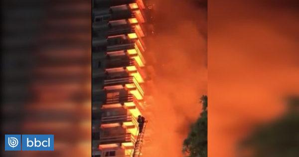 Locatarios afectados por incendio en edificio de Osorno temen continuar en el centro de la ciudad - BioBioChile