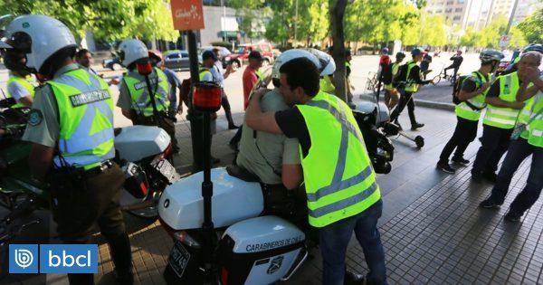 Resumen del jueves: nuevos incidentes en Providencia y aparición de chalecos amarillos en Las Condes - BioBioChile
