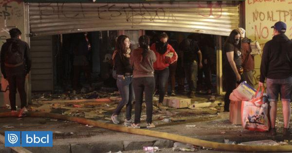 Dos detenidas por saqueo a supermercado en Osorno - BioBioChile