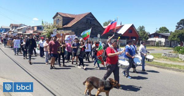 Más de 25 mil personas marcharon por las calles de Valdivia en convocatoria de paro nacional - BioBioChile